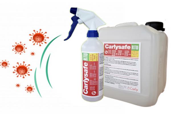 Covid 19: Nuovo disinfettante CARLYSAFE-RTU